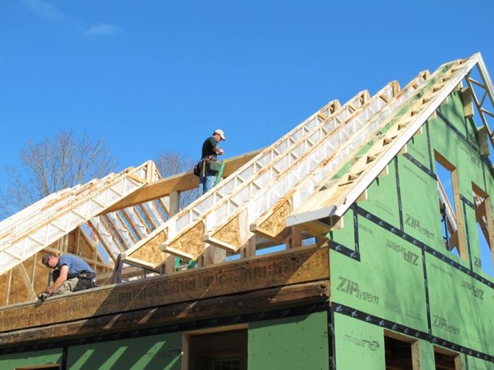 Gegnių skaičiavimas stogo konstrukcijose
