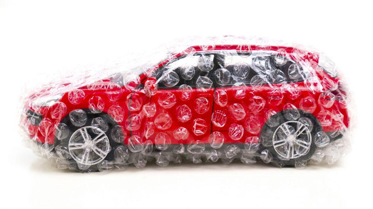Saugaus automobilio koncepcija